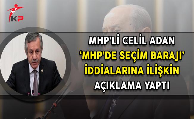 Baraj Tartışmalarına MHP'den Açıklama Geldi