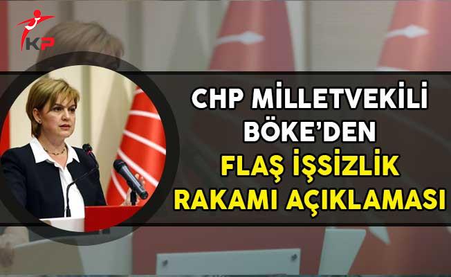 CHP İzmir Milletvekili Böke'den Flaş İşsizlik Rakamı Açıklaması!
