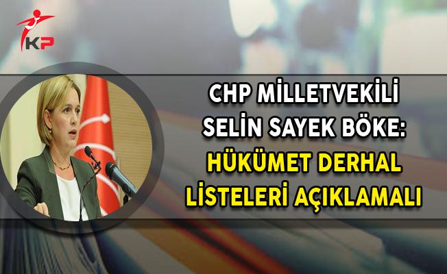 CHP'li Böke: Hükümet Derhal Vergi Cennetleri Listelerini Açıklamalı
