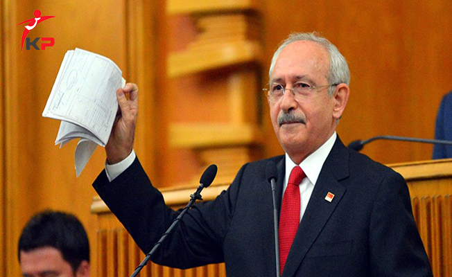 CHP Lideri Kılıçdaroğlu'nun İddiaları Hakkında Soruşturma Başlatıldı