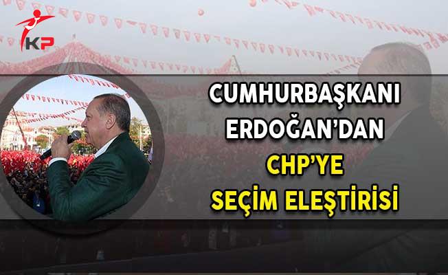 Cumhurbaşkanı Erdoğan'dan CHP'ye Seçim Eleştirisi: Aşırı Derece'de Gol Yiyen Kaleci Olursa Zaten Önemli Değil!