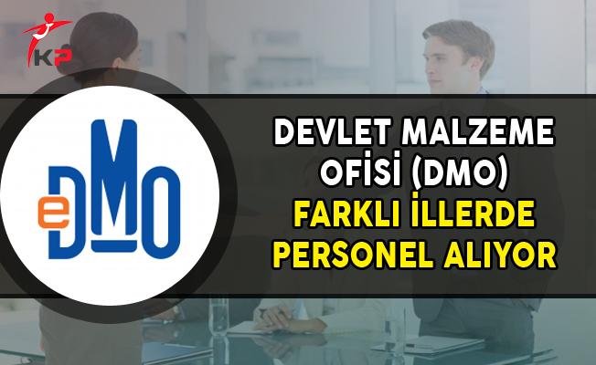 Devlet Malzeme Ofisi (DMO) Farklı İllerde Personel Alımı Yapıyor