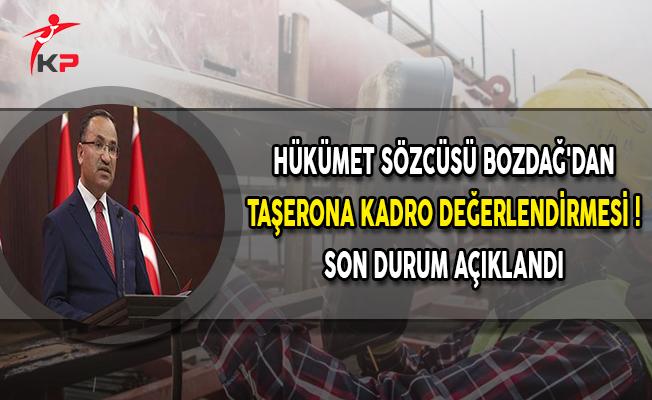 Hükümetten Taşerona Kadro Değerlendirmesi ! Son Durum Açıklandı