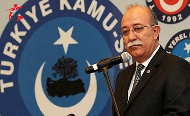Türkiye Kamu Sen Başkanı Koncuk'tan Taşeron İstihdamına İlişkin Uyarı!