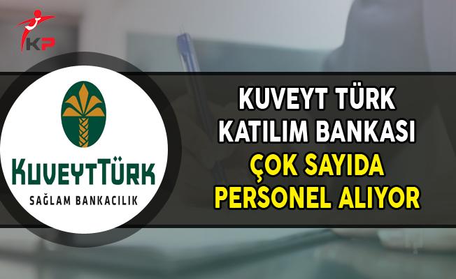Kuveyt Türk Katılım Bankası Kasım Ayı Personel Alım İlanı