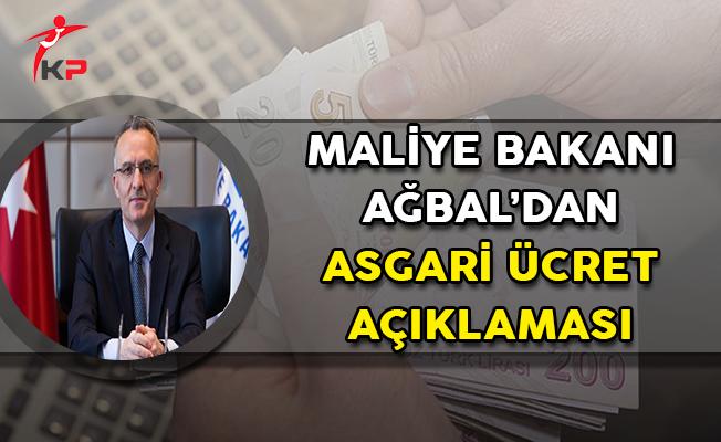 Maliye Bakanı Ağbal'dan Önemli Asgari Ücret Açıklaması