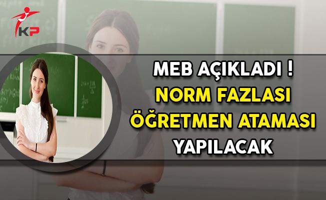 MEB Açıkladı: İşte Norm Fazlası Öğretmen Atamasının Yapılacağı İller