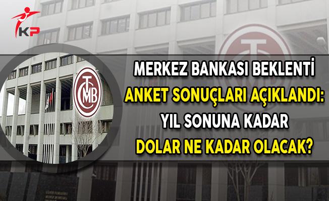 Merkez Bankası Beklenti Anketi Sonuçları Açıklandı ! Yıl Sonuna Kadar Dolar Ne Kadar Olacak?
