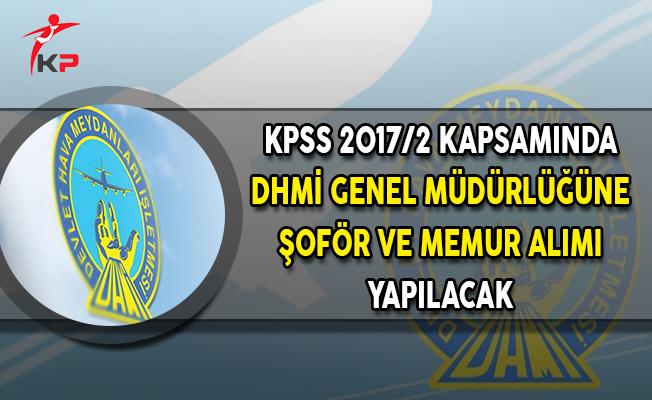 Merkezi Atama Kapsamında 2016 KPSS Puanı İle Devlet Hava Meydanları İşletmesine (DHMİ) Şoför ve Memur Alımı Yapılacak