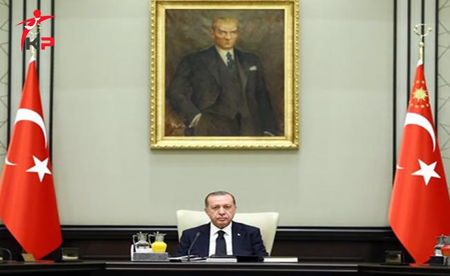 Milli Güvenlik Kurulu (MGK) Cumhurbaşkanı Erdoğan Başkanlığında Toplandı