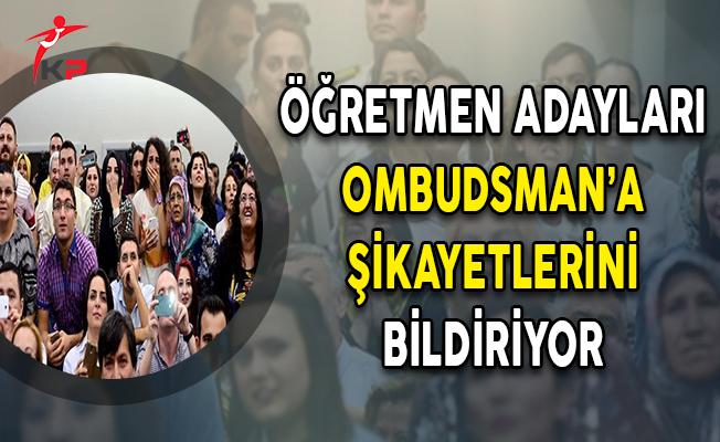 Öğretmen Adayları Ombudsman'a Şikayetlerini Bildiriyor