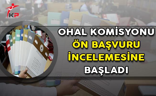 OHAL İnceleme Komisyonu Ön Başvuru Değerlendirmesine Başladı