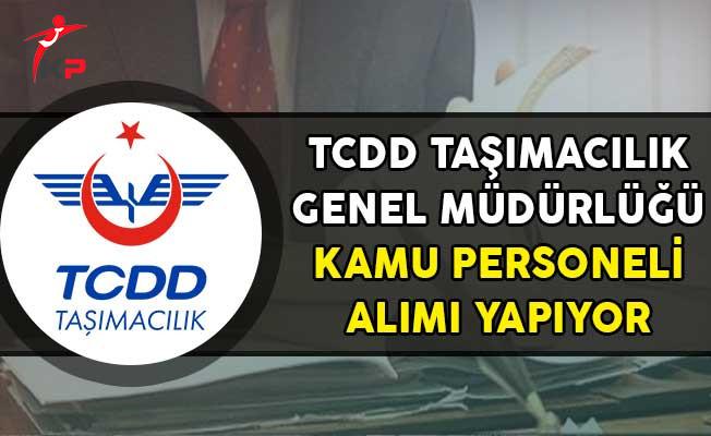 TCDD Genel Müdürlüğü Kamu Personeli Alım İlanı