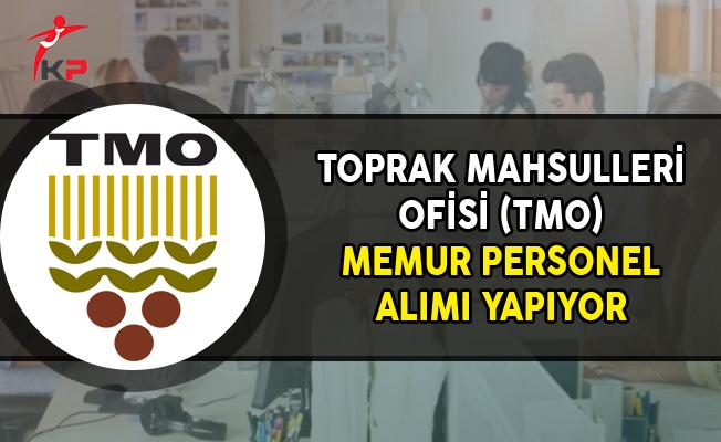 Toprak Mahsulleri Ofisi (TMO) Kamu Personel Alımı Yapıyor