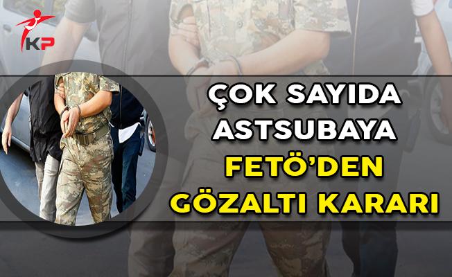 TSK'da FETÖ Operasyonu: Çok Sayıda Astsubaya Gözaltı Kararı