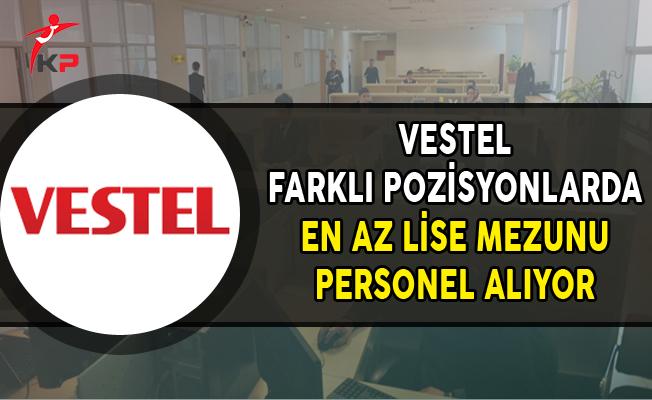 Vestel En Az Lise Mezunu Personel Alımları Yapıyor