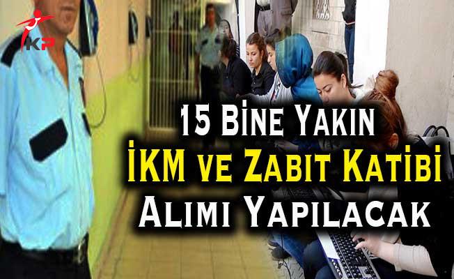 Adalet Bakanlığına 15 Bine Yakın İKM ve Zabıt Katibi Alınacak