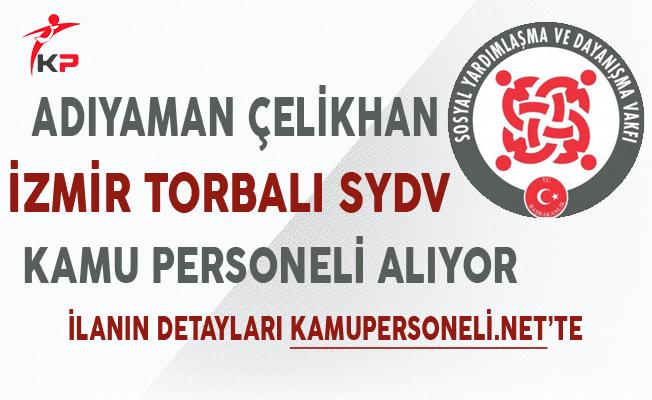 Adıyaman Çelikhan ve İzmir Torbalı SYDV KPSS Puanı ile Personel Alımı Sona Eriyor