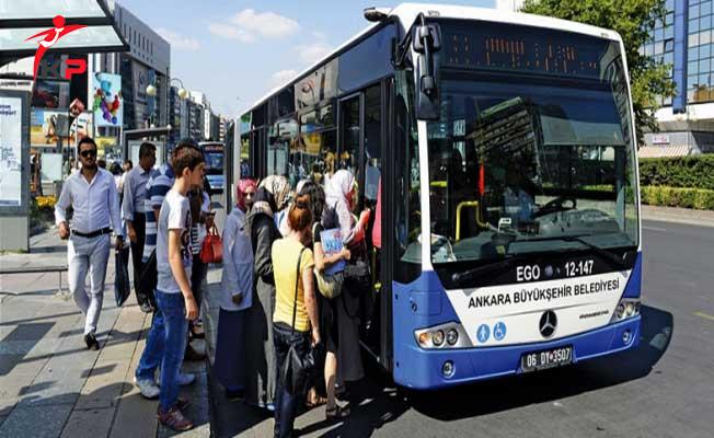 Ankara'da Toplu Taşıma Ücretlerine İndirim Yapıldı