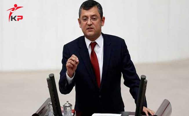 CHP Grup Başkanvekili Özgür Özel: Taşeron Konusu İle İlgili Kötü Kokular Geliyor!