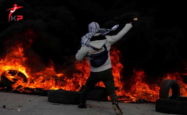 Filistinliler İle İsrail Askerleri Arasında Çatışma Çıktı ! Gerginlik Sürüyor