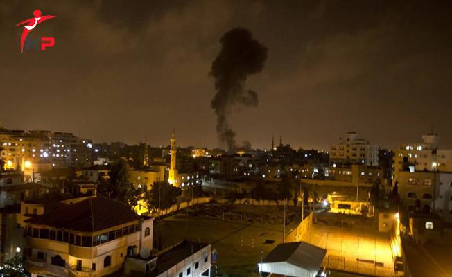 İsrail Gazze'ye Bu Kez Havadan Saldırdı! Çok Sayıda Yaralı Var