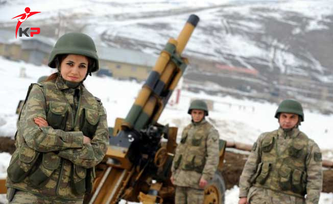 Jandarma'daki Kadın Subay Sayısı 8 Bine Çıkarılacak