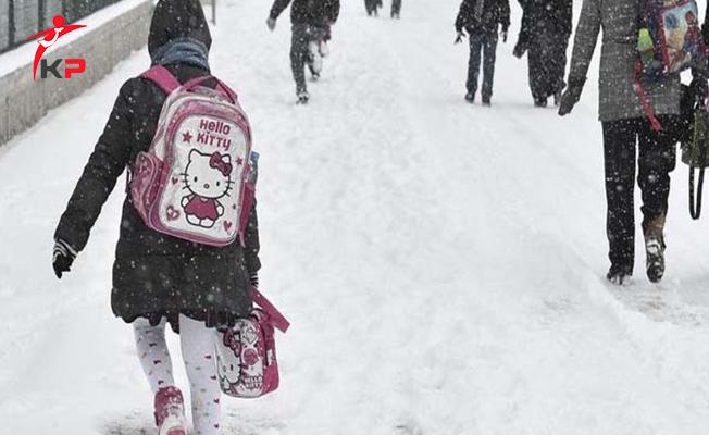 Kar Yağışından Dolayı Okulların Tatil Olduğu İller