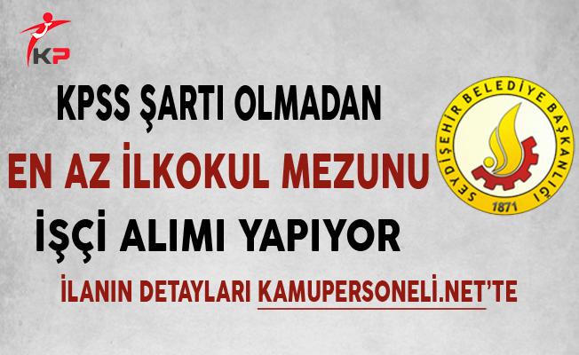 Konya Seydişehir Belediyesi Personel Alımı Başvurularında Son Gün