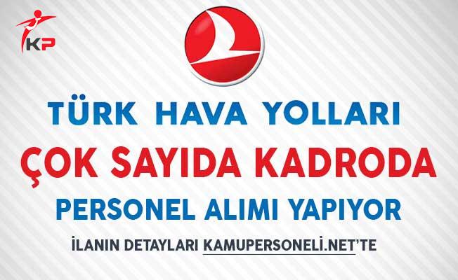 Türk Hava Yolları (THY) Çok Sayıda Kadroda Personel Alım İlanı Yayımladı!
