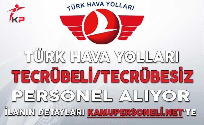 Türk Hava Yolları (THY) Tecrübeli/Tecrübesiz Personel Alıyor
