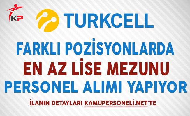 Turkcell Personel Alım İlanı Aralık 2017