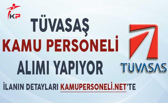 TÜVASAŞ Genel Müdürlüğü Kamu Personeli Alımı Yapıyor