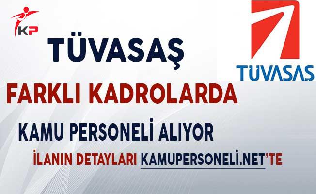 TÜVASAŞ Genel Müdürlüğü Sözleşmeli Kamu Personeli Alımı Yapıyor!