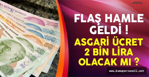 2017'de asgari ücret 2 bin lira olacak mı?