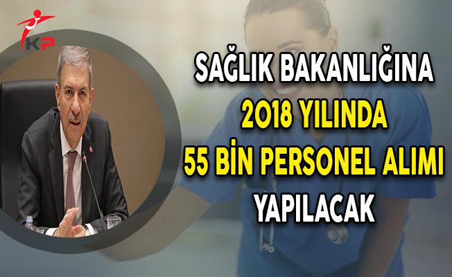 Bakan Demircan Açıkladı: Sağlık Bakanlığına 55 Bin Personel Alınacak