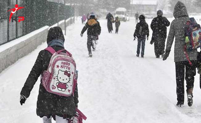 Kar Yağışından Dolayı 2018 Yılının İlk Tatil Haberi Geldi