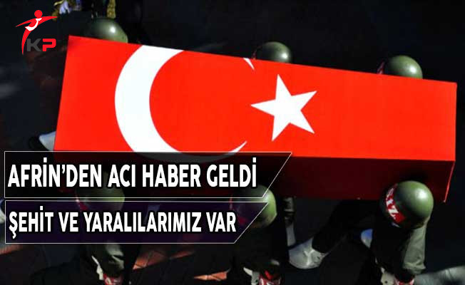 Acı Haber Geldi: Zeytin Dalı Harekatında Şehit ve Yaralılarımız Var !