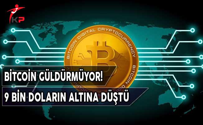 Bitcoin Neşeli Günlerini Geride Bıraktı! 9 Bin Doların Altına Düştü