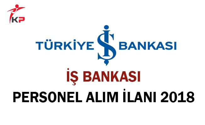 İş Bankası Personel Alım İlanı 2018