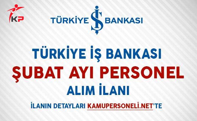 İş Bankası Personel Alımı Yapıyor