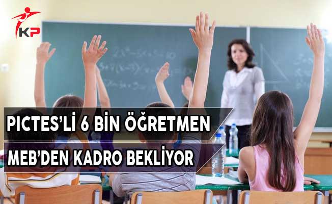 KPSS İle Atanan PICTES'li Öğretmenler MEB'den Kadro Bekliyor
