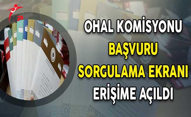 OHAL Komisyonu Başvuru Sorgulama Ekranı Erişime Açıldı