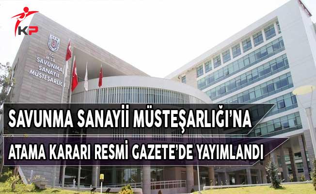 Savunma Sanayii Müsteşar Yardımcılığına Prof. Dr. Faruk YİĞİT Atandı