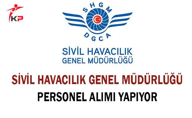 Sivil Havacılık Genel Müdürlüğü Memur Alımı Yapıyor