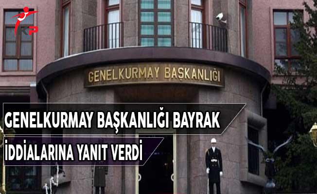 Türk Silahlı Kuvvetleri Bayrak İddialarına Yanıt Verdi