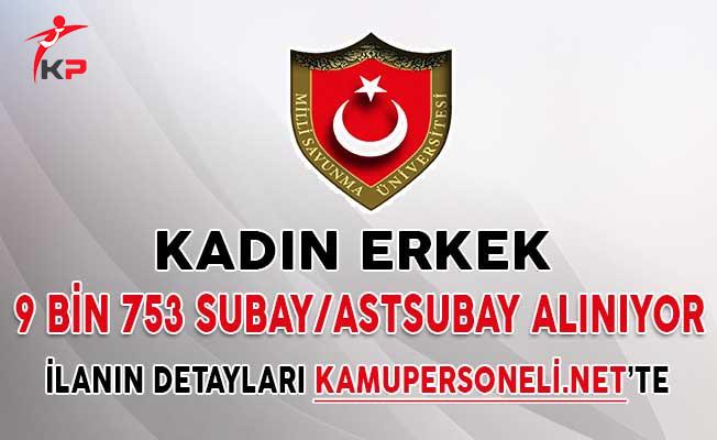 Türk Silahlı Kuvvetleri (TSK) 9 Bin 753 Subay Astsubay Alımı İçin Başvurular Sona Eriyor (Kadın - Erkek)