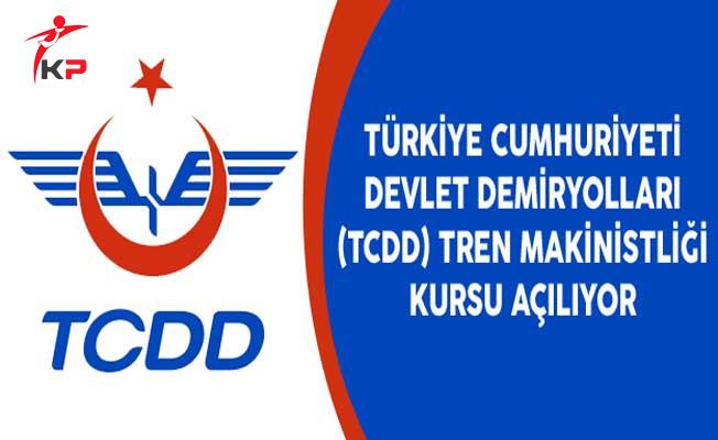 Türkiye Cumhuriyeti Devlet Demiryolları (TCDD) Tren Makinistliği Kursu Açılıyor