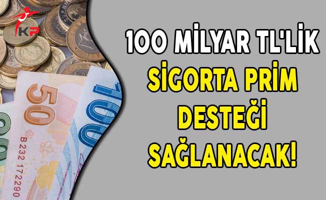 100 Milyar TL'lik Sigorta Prim Desteği Sağlanacak!