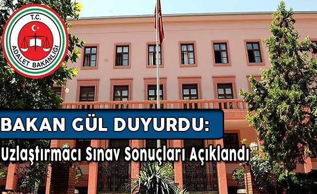 Adalet Bakanlığı Uzlaştırmacı Sınav Sonuçları Açıklandı